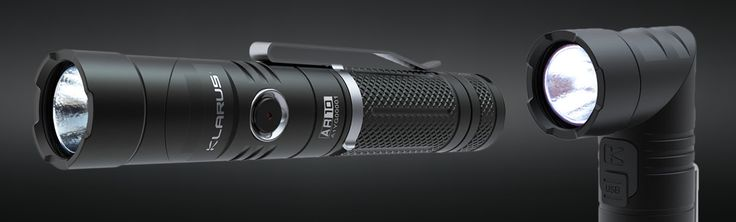Klarus AR10 Swivel-Head Flashlight w/Magnetic Tail | Exclusive Price and Reviews | https://www.massdrop.com/buy/klarus-ar10 | Discover more Fixed Blade Knives  on @massdrop | Featuring a unique design in which the head can be adjusted a full 90 degrees, the Klarus AR10 can project light at a...