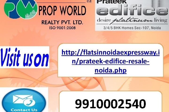 resale in prateek edifice (9910002540) sector 107 noida expressway