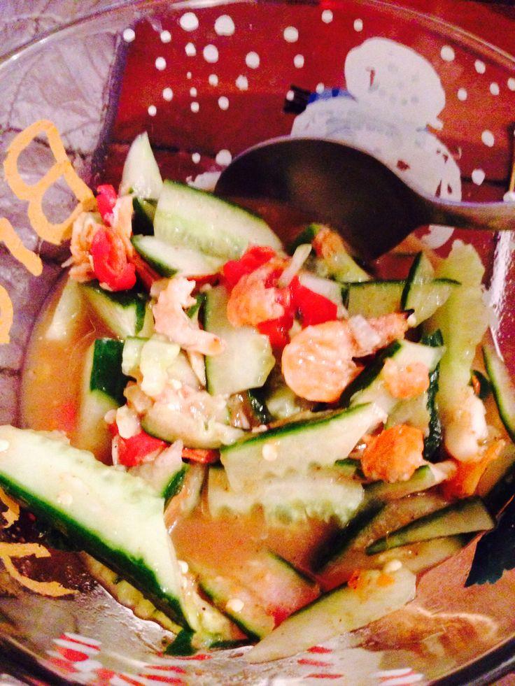 Cucber Salad Thai Style