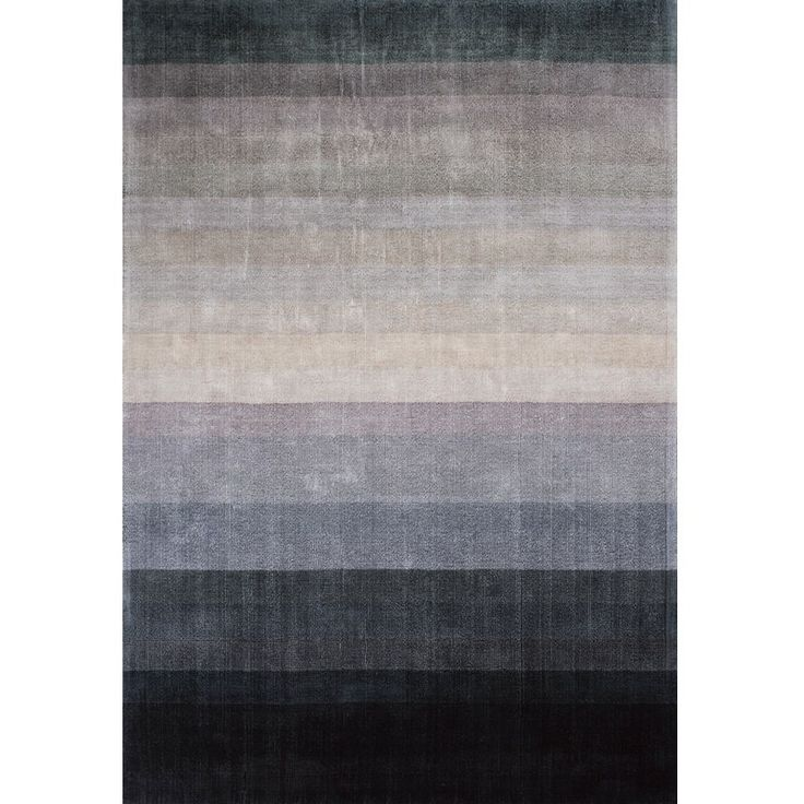 Linie Design Combination Rug in the Dark Blue colourway is handloomed in India by skilled craftsmen. This contemporary design rug has been made very much for the modern interior and features a beautiful and subtle colour graduation, which goes from a dark blue through soft soft taupes and browns to a dark grey, altogether making a stunning rug.