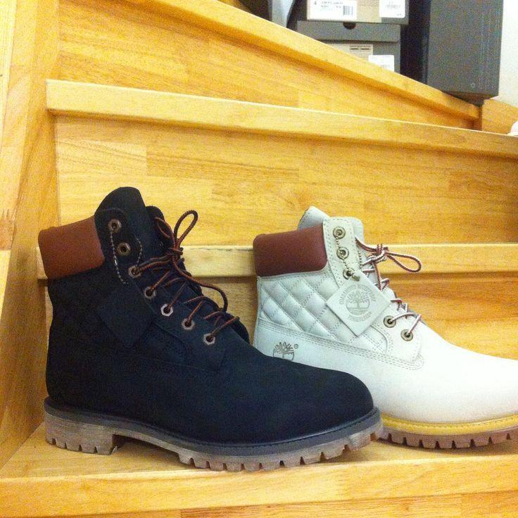 Boots matelassées Timberland noires ou blanches en soldes @shopnantes @atlantis_le_centre #Timberland #Nantes #boots #yellowboots #black #white #quilted #timbs #menswear #footwear #shoes # #A119L #9657B #soldes Et n'oubliez pas de profiter de 10€ de réduc supplémentaire dès 100€ sur www.shop-nantes-atlantis.fr avec le code FOLLOW10 ! ;-)