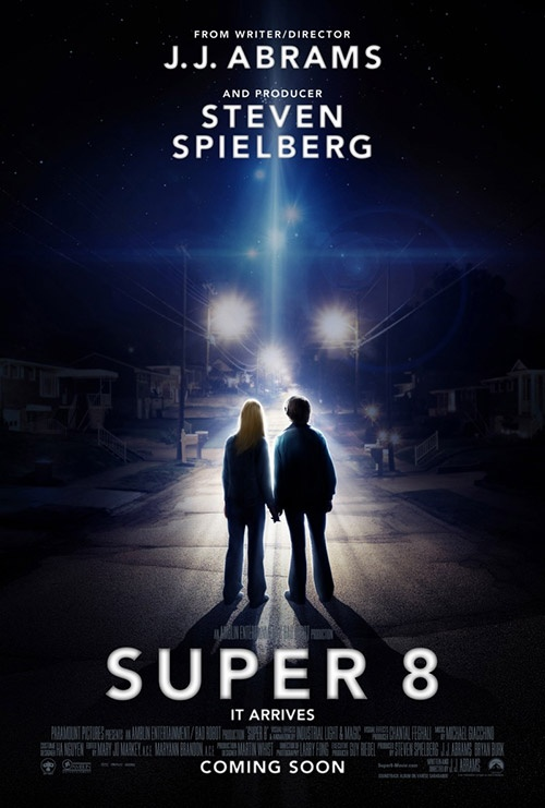 """Super 8"" - During the summer of 1979, a group of friends witness a train crash and investigate subsequent unexplained events in their small town."