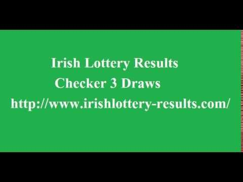 Irish Lottery Results Checker 3 Draws - http://LIFEWAYSVILLAGE.COM/lottery-lotto/irish-lottery-results-checker-3-draws/