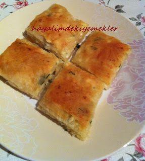 Peynirli Baklava boregi | Resimli Yemek Tarifleri Hayalimdeki Yemekler