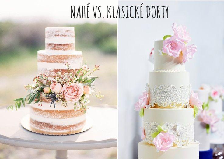 Nahé dorty zažívají v posledních dvou letech neskutečný boom. Postupně se tento trend dostává i na naše svatby. Pojďme se tedy podívat, co to vlastně ten nahý dort (naháč) je. Nahý dort - recept | Nahý dort - obrázky Nahé vs. klasické dorty - který