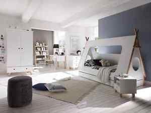 Kinderbett-Bett-90x200-Indianerbett-Kinderzimmer-Moebel-neu-21695