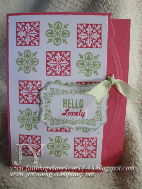 Creating in Faith, Hope and Love...: Pictures From My Stampin' Up! Catalog Reveal