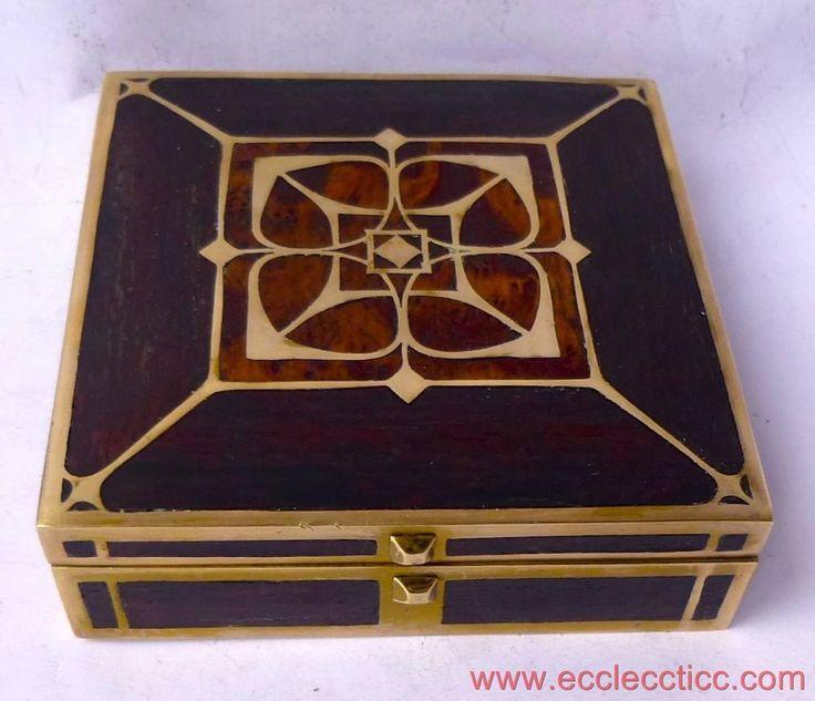 Erhard & Söhne, Sohne Art Nouveau Jewellery Box