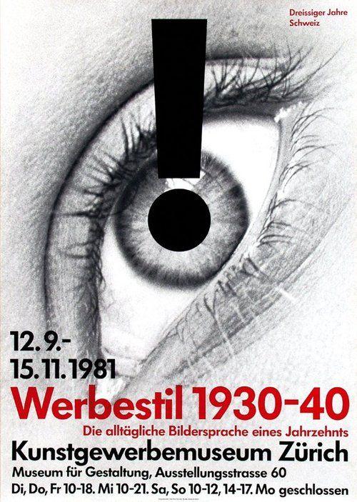 Georg Staehelin, Werbestil, 1981