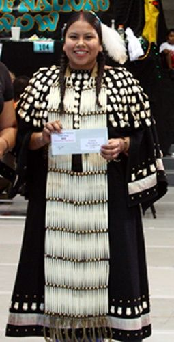 Northern Traditional Buckskin Dress and Cloth Dress Construction. Native  American ...