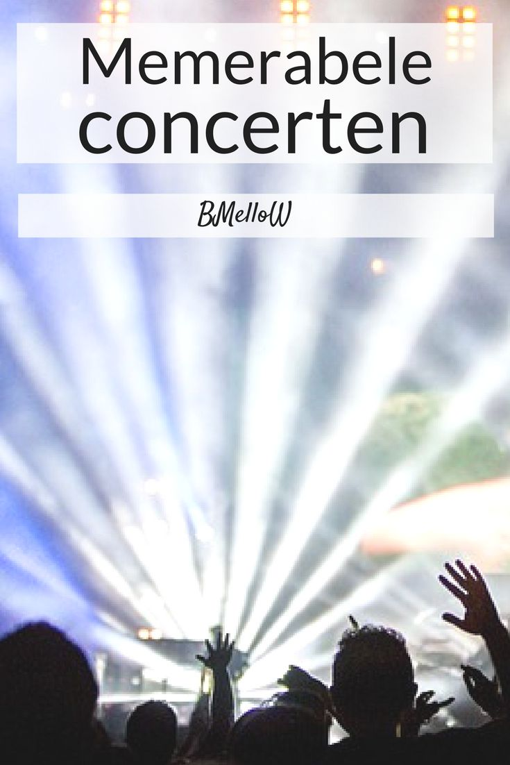 Vandaag is het weer tijd voor de rubriek geef mij er 5. Dit keer vertel ik over mijn memorabele concerten. Welke concerten zijn mij het meest bij gebleven.