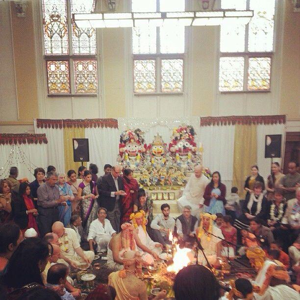 The ISKCON Leicester, Hare Krishna Temple