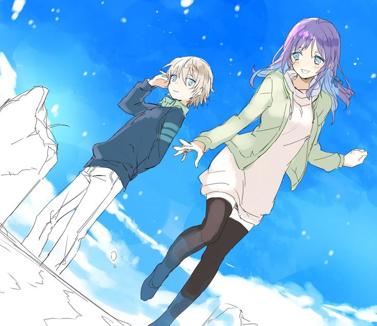 Nagi no Asukara | Maeda Risou | P.A. Works / Hiradaira Chisaki and Isaki Kaname / 「なぎあすつめ2」/「ぶんこ」の漫画 [pixiv] [05]