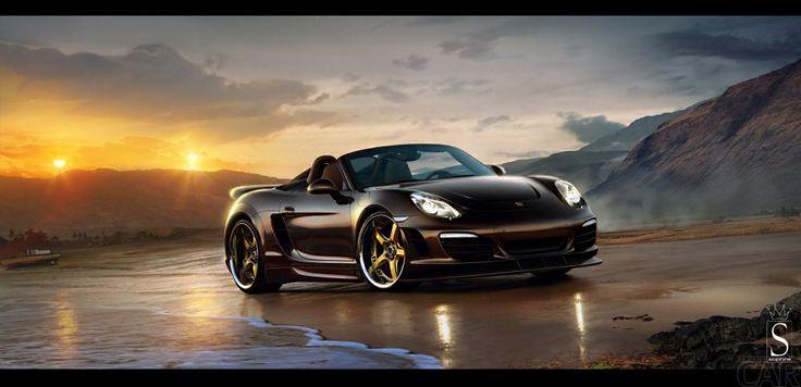 Fonds d'écran avec une extrême mémorable voiture Porsche Boxster S