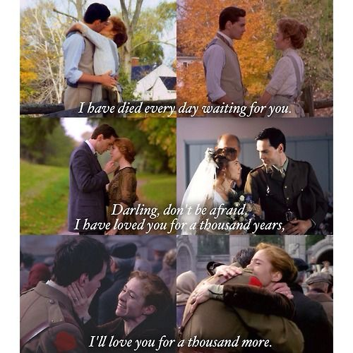 Their love over the years.