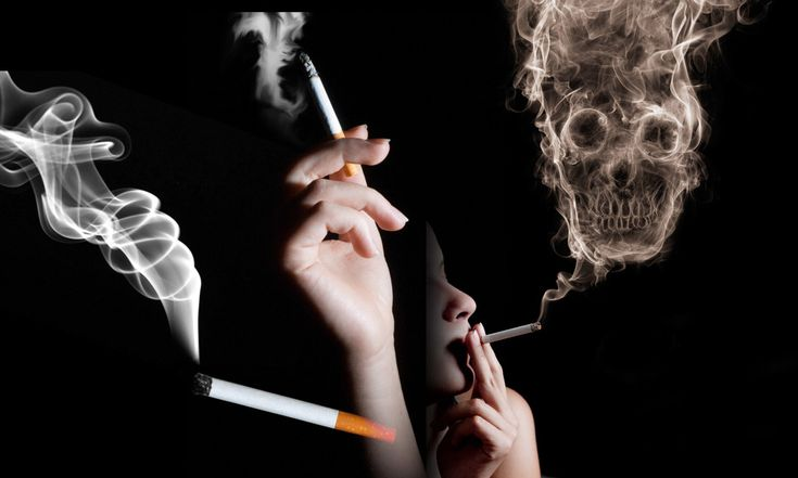 How Smoking Cigarettes Effects The Body