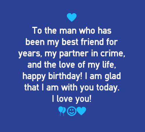 Happy Birthday Quotes for Boyfriend | WishesGreeting | •♥• Love