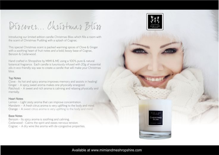 Christmas Bliss Treatment Candle - 270g (50 hrs burn time)