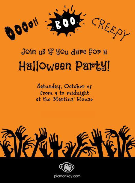 halloween clipart invitations - photo #16