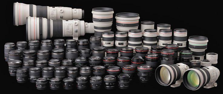 Canon EF Lens Series for Digital SLR's and Cinema cameras #imagescameras