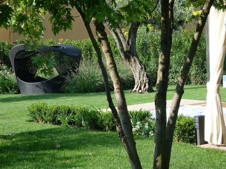 Il giardino elegante. Alcova nel verde