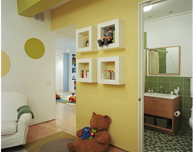 love this wall for a kids room