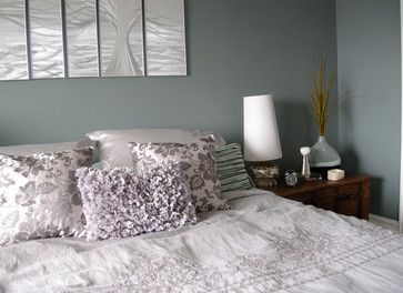 Serene Bedroom Contemporary Bedroom Other Metro Designing Home Clie