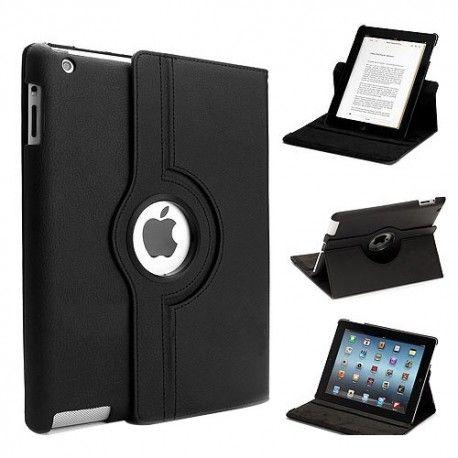 iPad 2 ve iPad 3 uyumlu 360 derece dönebilen, stant olabilen şık tasarımlı koruyucu kılıf