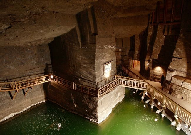 A trip to Wieliczka Salt Mine is a one of the more interesting things to do in Krakow. Hundreds of thousands visit this UNESCO listed site every year http://partykrakow.co.uk/stag-weekends-krakow/relaxed/trip-wieliczka-salt-mine/