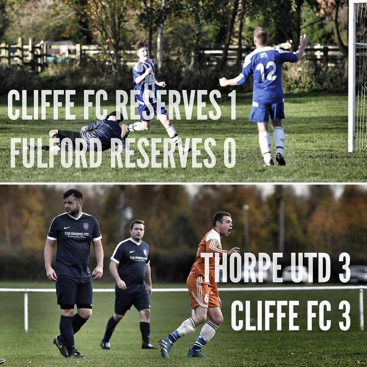 Photos from the weekend over at our Facebook page. Facebook.com/CliffeFC