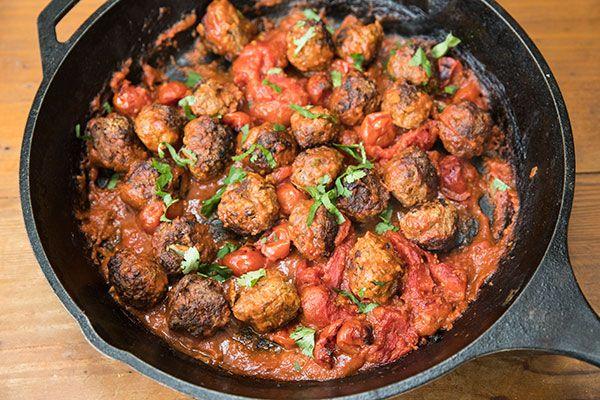 Baked venison meatballs – Recipes – Bite