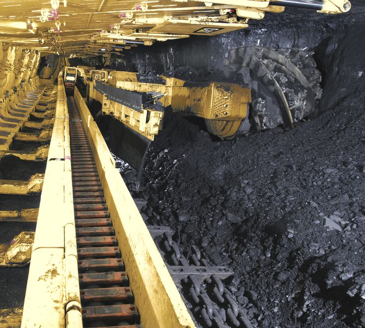 pic of longwall | Cat EL3000 Longwall Shearer in coal mine ...