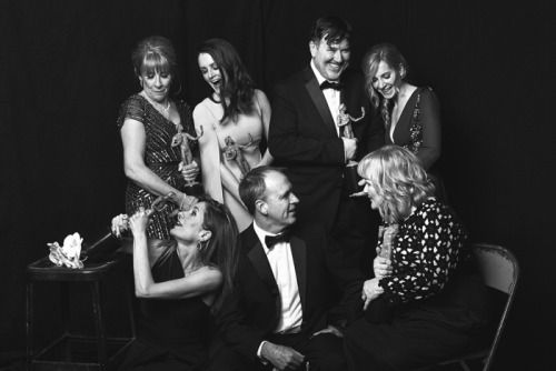 "Downton Abbey ..Phyllis Logan, Sophie McShera, Joanne Froggatt, Raquel Cassidy, Kevin Doyle and Lesley Nicol from ""Downton Abbey"" were part of the cast who won the SAG Award for Outstanding Performance by an Ensemble in a Drama Series.."