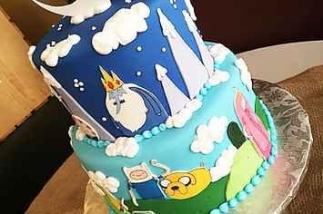 17 Amazing Adventure Time Cakes