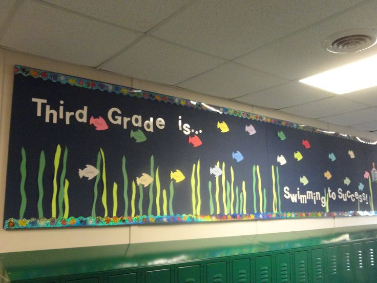 fish themed classrooms   Adventures in Third Grade: Ofishally 3rd Graders