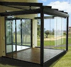 external frameless glass doors - Google Search