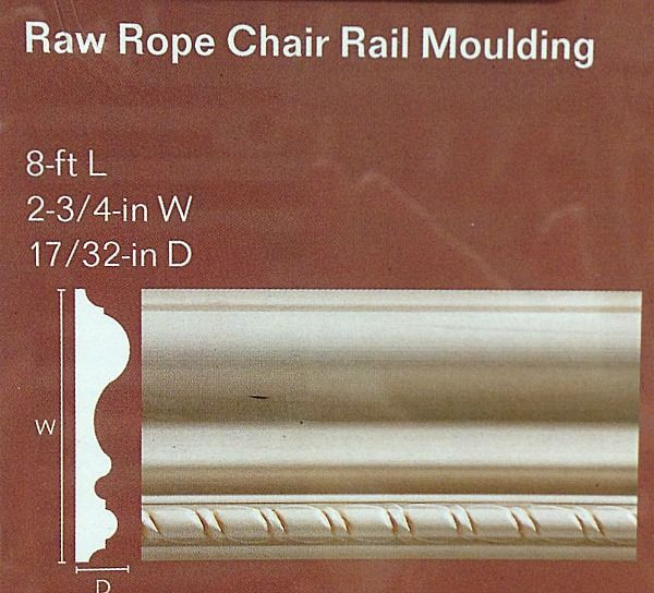 Rope Chair Rail Moulding
