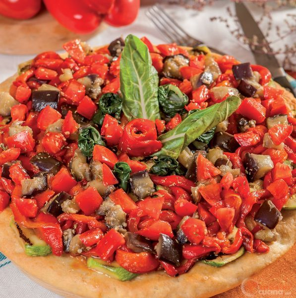 Pizza all'ortolana