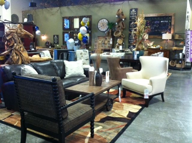 Haute Living   Visual Merchandising   American Furniture Warehouse    Firestone Store