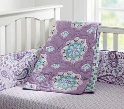 Baby Girl Nursery Bedding, Crib Bedding for Girls | Pottery Barn Kids