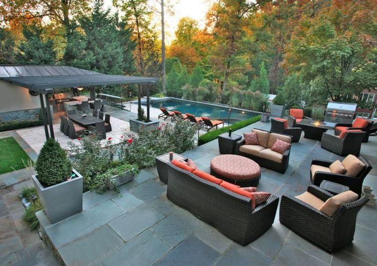 39 best images about terrasse mit steinbelag on pinterest. Black Bedroom Furniture Sets. Home Design Ideas