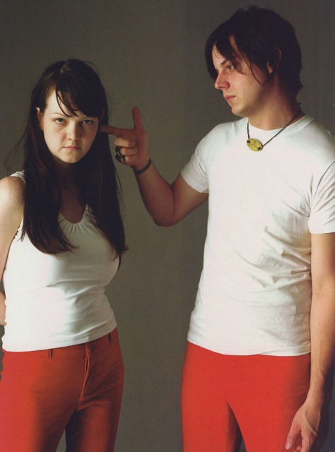 With the White Stripes we were trying to trick people into ...