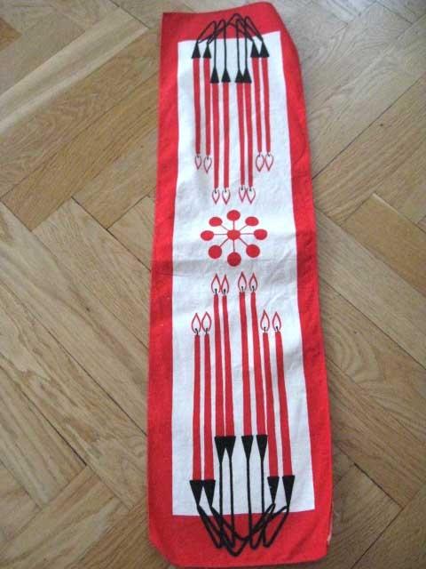 Julduk/tablecloth 50 - 60 tal