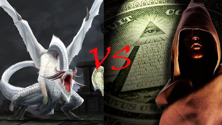 Hermandad del Dragon Blanco vs Illuminatis