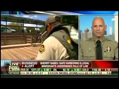 Sheriff Babeu hits the nail on the head!  Border Sheriff: Obama Has Turned U.S. Into a 'Sanctuary Nation'   MRCTV