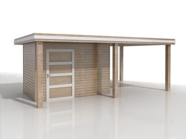 SzukajFachowca.pl - Zlecenia - Budowlane - Dekarstwo-dachy i stropy: Domek narzędziowy / ogrodowy z drewutnią z drewna -…