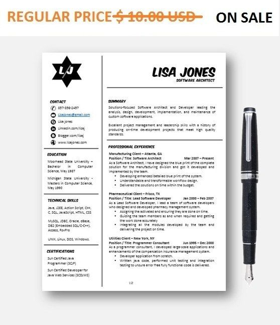 16 best Cv images on Pinterest Resume ideas, Resume tips and - software architect sample resume