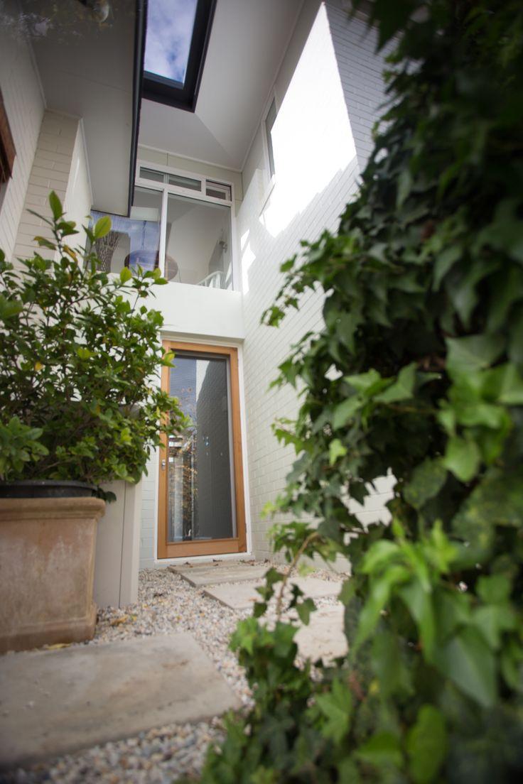 Internal courtyard space