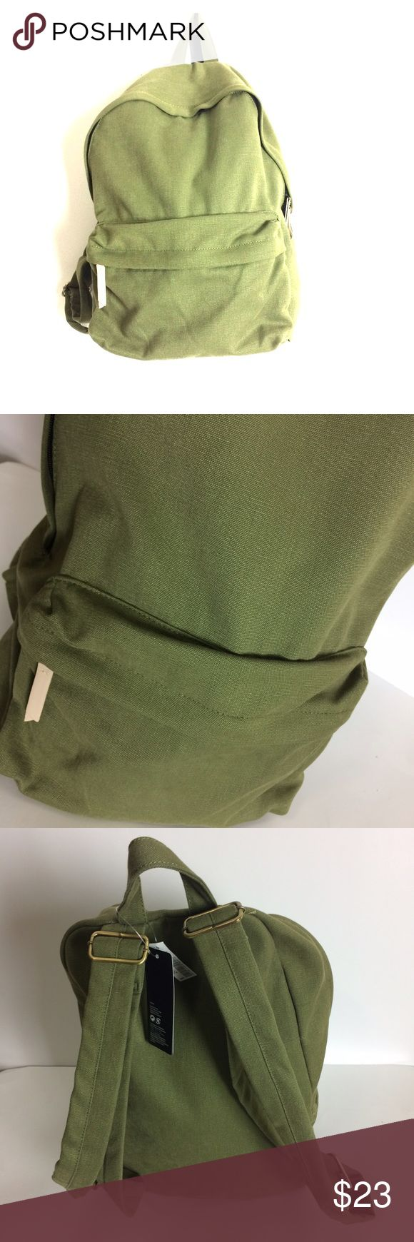 H & M Military Green Backpack Love this backpack super cute, stylish and trendy! NWT! PRICE IS NOT FIRM OFFERS ACCEPTED UPON REQUEST.. This listing is BRAND NEW WITH TAGS! Material: Divided Bags Backpacks