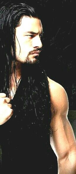 Not a huge fan of wrestling... But I'll watch when this is on the screen... Weird: I wonder why?  Roman Reigns.